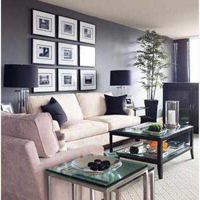 اللون الرمادى لمنزل أكثر جمالا
