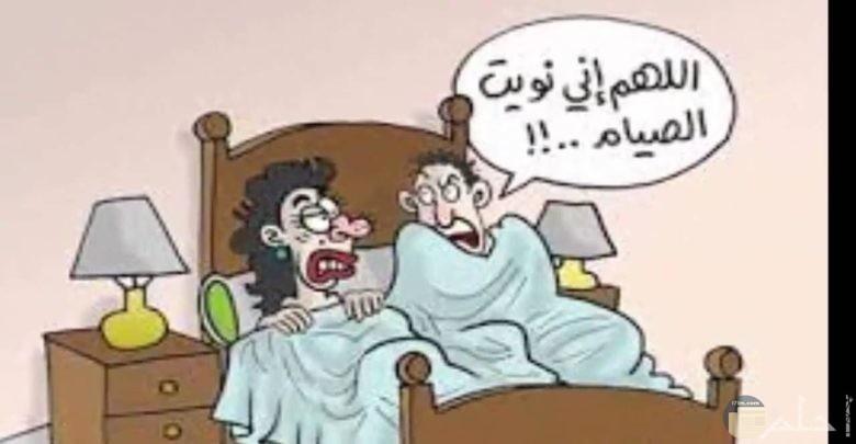 اللهم صائم ضحكات وحركات السحور