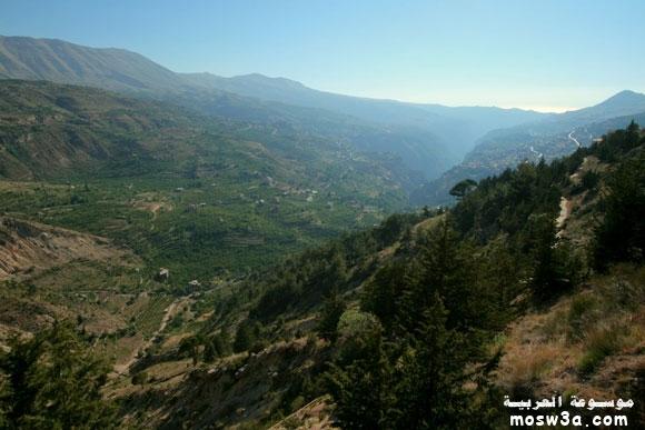 مناظر لبنان