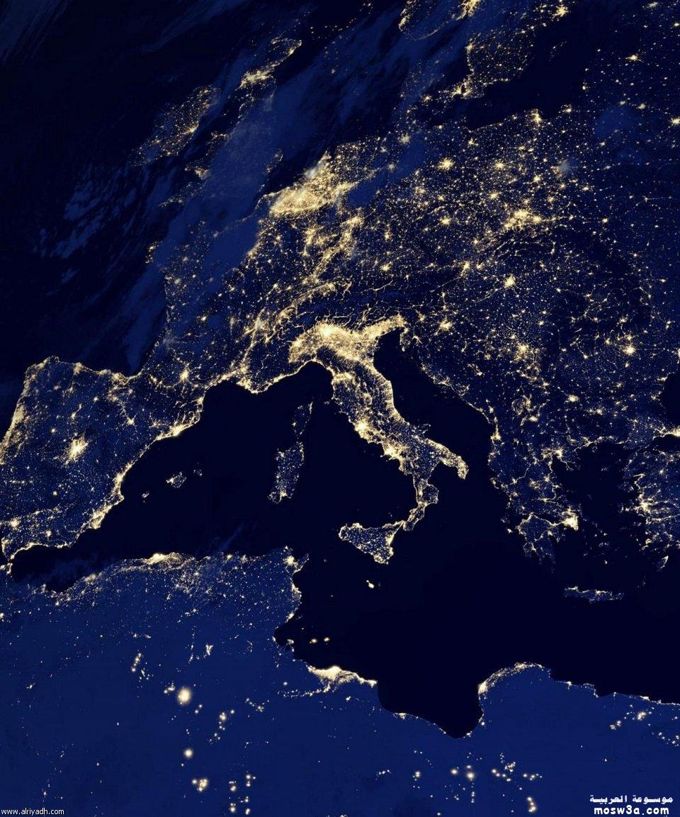 صور جديده من وكالة ناسا الكرة
