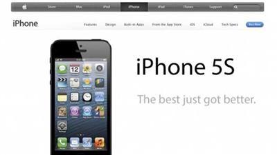 إطلاق الشكل الجديد iphone5s يونيو