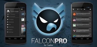 جديد تطبيق تويتر Falcon يحصل