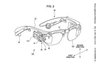 """""""سوني"""" تسجل براءة اختراع لنظارة"""