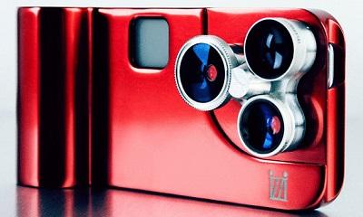 أداة تحول iPhone 5لكاميرا فوتوغرافية