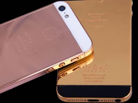 تطلق أيفون الذهب الخالص