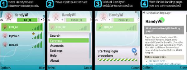 HandyWifiمن أروع برامج البحث