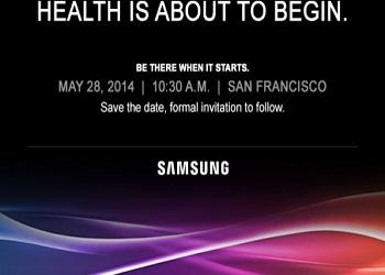 سامسونج تعقد حدثًا الصحة2014، بطاقات