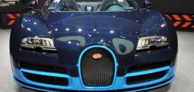 بوغاتي اقوي السيارات فرنسية الصنع